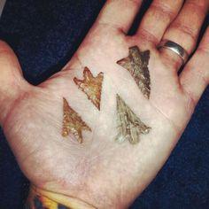 Handful of birds.