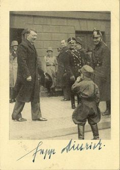 Rare photos of Hitler with Kid(s)