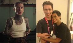 This Is What American Horror Story: Freak Show's Monsters Look Like In Real Life! Mat Fraser aka Paul the Illustrated Seal has no visible tattoos and seems to be friends with Rihanna, which is awesome!