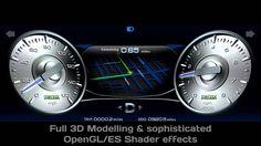 3D Automotive Instrument Cluster HMI