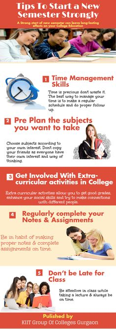 Tips To Start New #Semester Strongly!!