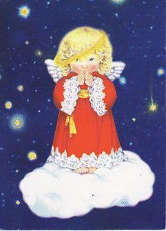 Ángel - Lisi Martin postkort