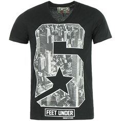 Tee Shirt Crossby Dylan Star 6 Noir - LaBoutiqueOfficielle.com