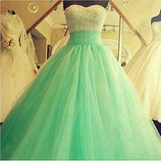 Green Prom Ball Gowns on Chiq http://www.chiq.com/green-prom-ball-gowns