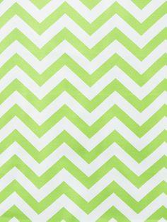 OD CHEVRON LIME (Outdoor Fabric) #chevrons #green #print-fabrics