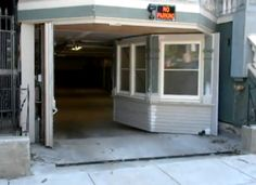 Bay Window in San Francisco Creatively Become Garage , San Francisco resident Corey McMills decided he no longer wanted to deal with the heavy traffic of San Francisco. So he came up with an ingenious idea for parking his car: turning his bay window into a garage. Seen on Curbed, this amazing idea doesn't l , Admin ,...