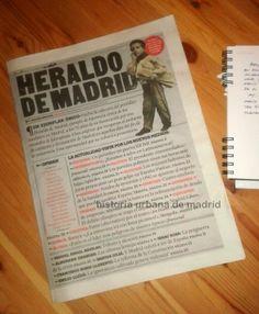 Historia Urbana de Madrid: Heraldo de Madrid, 75 años después