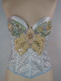Dream Bohemian Embellished Beaded Vintage Bridal by DreamBohemian, $120.00