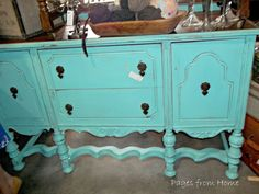 Love the color! Buffet