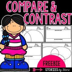 Compare and Contrast Graphic Organizers (freebie)