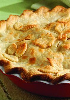 Fresh Deep-Dish Apple Pie