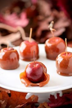 Caramel Crab Apples