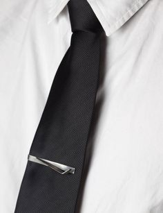eec894d8a216 Airplane Wing Sterling Silver Tie Clip – Cool Pilot Gift for Him