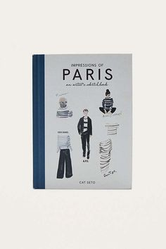 "Slide View: 1: Cat Seto – Buch ""Impressions of Paris: An Artist's Sketchbook"""