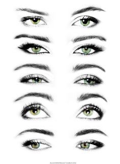 drawing eyes looking up - Google Search