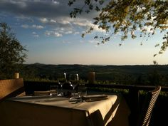 Table for 2 with view