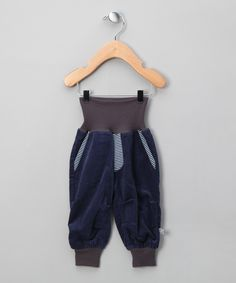 Navy Cordurouy Trousers - Infant