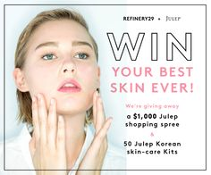 Win a $1,000 Juelp shopping spree   the ultimate Korean beauty products! Enter now: http://r29.co/1hvZ6bL