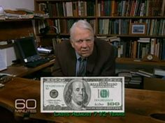 Andy Rooney knows a lot of things, but he'll be the to admit all those trillions in our National Debt can get a little confusing. Andy Rooney, Debt, Youtube, Youtubers, Youtube Movies
