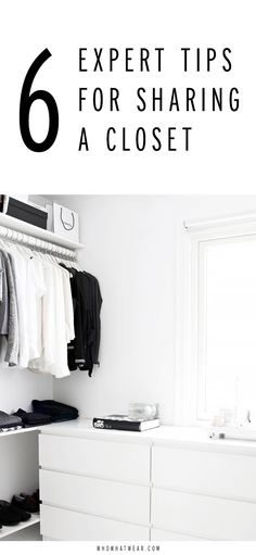 How to properly share a closet