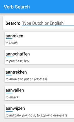 Scheidbare werkwoorden met het partikeltje 'AAN' (Nederlands - Engels) [2]