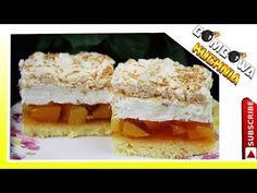 🍰BRZOSKWINIOWA CHMURKA- BOMBOWA KUCHNIA🍰 - YouTube Krispie Treats, Rice Krispies, Youtube, Food, Tray Bakes, Bakken, Eten, Rice Krispie Treats, Meals