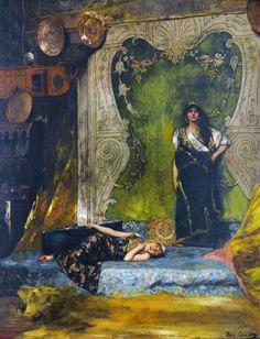 Le Prince Lointain: Benjamin Constant (1845-1902), Langueur d'Après-Mi...
