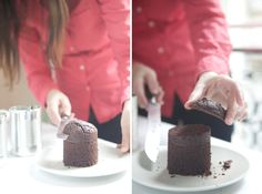 Bake mini cakes in a can!