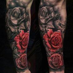 + de 100 Tatuajes de ROSAS con imágenes y Significados