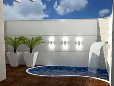 The Best Covered Back Patio Ideas For Your Home – Pool Landscape Ideas Small Swimming Pools, Backyard Pool Designs, Small Backyard Landscaping, Small Pools, Swimming Pools Backyard, Swimming Pool Designs, Small Patio, Patio Design, Backyard Patio