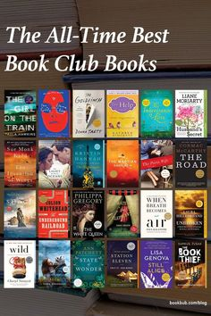 Unsure what your next book club read should be? To help, we've gathered together a list of some of the most popular book club books of the past decade. #books #bookclub #bookclubbooks Best Book Club Books, Book Club Reads, Great Books, The Paris Wife, Still Alice, Paula Hawkins, Markus Zusak, Donna Tartt, Most Popular Books