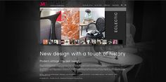 homepage design for JM-Style see jm-style.com