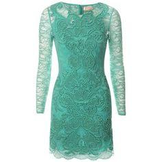 Rainbow Lace Long Sleeve Dress