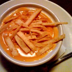 Copycat Max & Erma's Chicken Tortilla Soup.