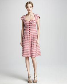 ShopStyle: Nanette Lepore Paradise Striped Dress