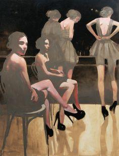 """Michael Carson-""""Cigarette Girls"""""""