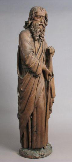 Medieval Art — St. Paul, Medieval ArtMedium: Oak, traces of...