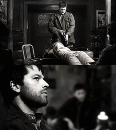 """The End"" (Supernatural) I love Castiel in this episode !!"
