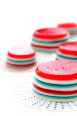 4th of July Jello Shots