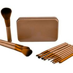 Brushes to use for the artist in you.  Create your own style of  beauty.  Too much makeup looks like fake up so k. i. s. s. by enhancing with highlights and lo lights to the facial contour. Embellish with bronzers eye and cheek colors.. .