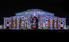 Projection Mapping Show / Sharjah Light Festival / UAE 3d Projection Mapping, Festival 2017, Jerusalem Israel, Travel Oklahoma, Sharjah, New York Travel, Death Valley, United Arab Emirates, Istanbul Turkey