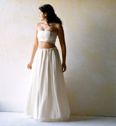 Suit Wedding Dress Alternative Wedding Dress Hippie by LoreTree
