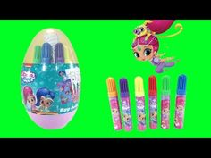 It's Shimmer and Shine Easter Egg activity set with markers, stickers, stamps, and coloring pages. Little Wish is going to color and stamp. CLICK TO SUBSCRIB...