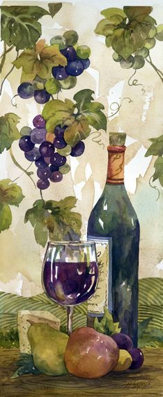 Red Wine and Fruit (Jerianne Van Dijk)