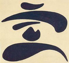 Willi Baumeister | Ideogram, 1937
