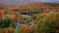 Twin Farms - All Inclusive Vermont Resort and Spa   Home - Autumn Picture!