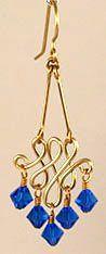 DIY Bijoux  Modified WigJig Classic Jewelry Wire & Beads Chandelier Earrings  An Advan