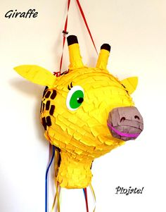 GIRAFFE pinata - birthday gift, birthday and any party joy... for all ages with young spirit :) pinata - by PinjateNoviSad on Etsy