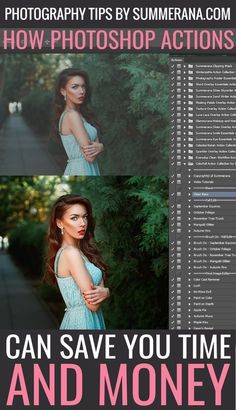 Photography tips Photo editing How Photoshop Actions Can Save You Time and Money Photoshop Tutorial, Actions Photoshop, Photoshop Actions For Photographers, Adobe Photoshop, Photoshop Elements, Photoshop Design, How To Use Photoshop, Photography Lessons, Photoshop Photography