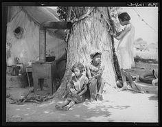 la grande dépression, photos de Dorothea Lange